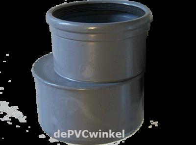 PVC Manchet Verloopstuk 125x110mm MS SN8