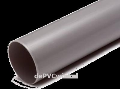 Regenwaterbuis  100x1.8mm grijs l=5.55m