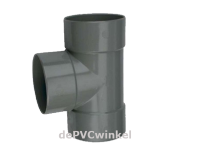 Lijm T stuk 110mm 90`3xlv