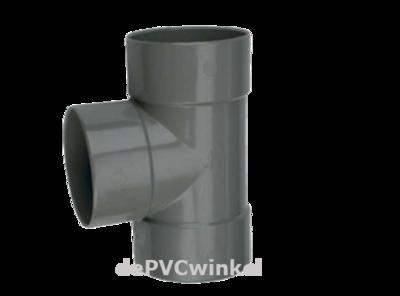 Lijm T stuk 125mm 90`3xlv