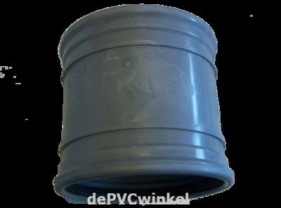 PVC Manchet steekmof 125mm sn4 met stootrand