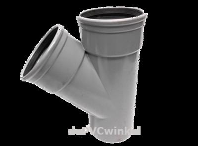 PVC Manchet T stuk 160 45`2xmof/spie sn4