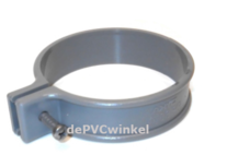 PVC ophangbeugel 70mm