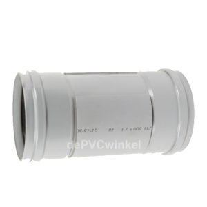 PVC Manchet Ontstoppingsstuk 250mm incl.schuifkap 2xM SN4